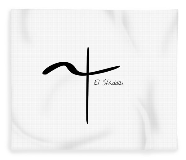 El Shaddai Fleece Blanket