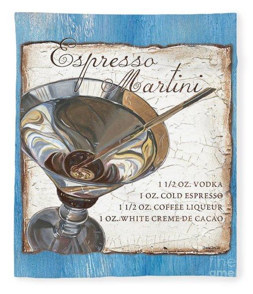 Espresso Martini Fleece Blanket