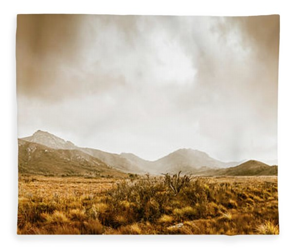 Ever Expansive Tasmania Fleece Blanket