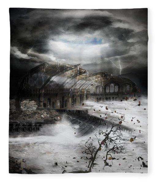 Eye Of The Storm Fleece Blanket