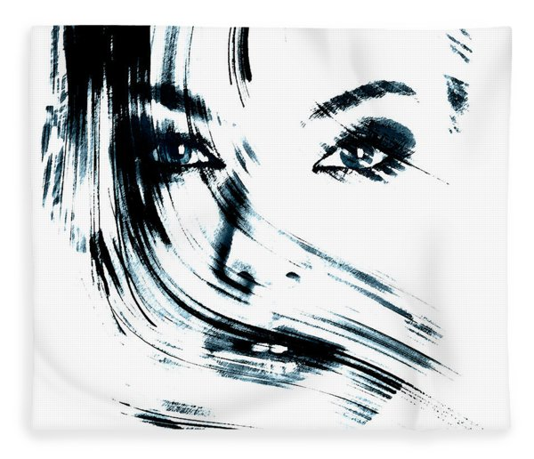Face Fleece Blanket