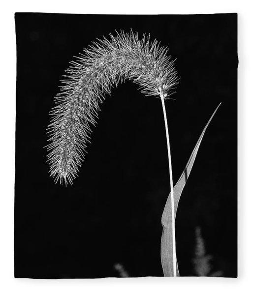 Fall Grass 1 Fleece Blanket