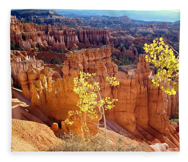 Fall In Bryce Canyon Fleece Blanket