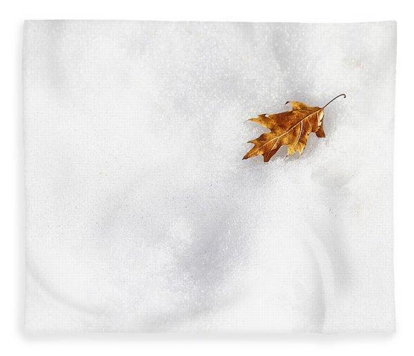 Fallen Fleece Blanket