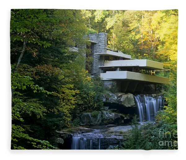 Fallingwater Fleece Blanket