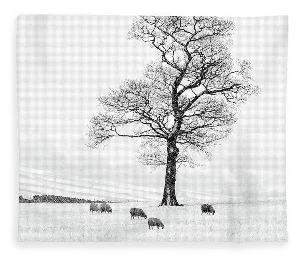 Farndale Winter Fleece Blanket
