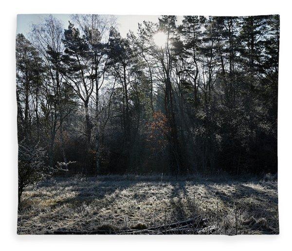 February Morning Fleece Blanket