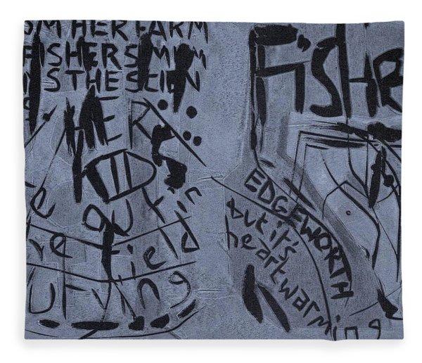 Fisher Covers Unmasked Fleece Blanket
