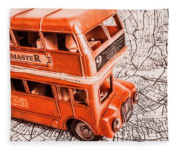 Fleet Street Fleece Blanket