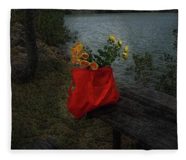 Floral Art 11 Fleece Blanket