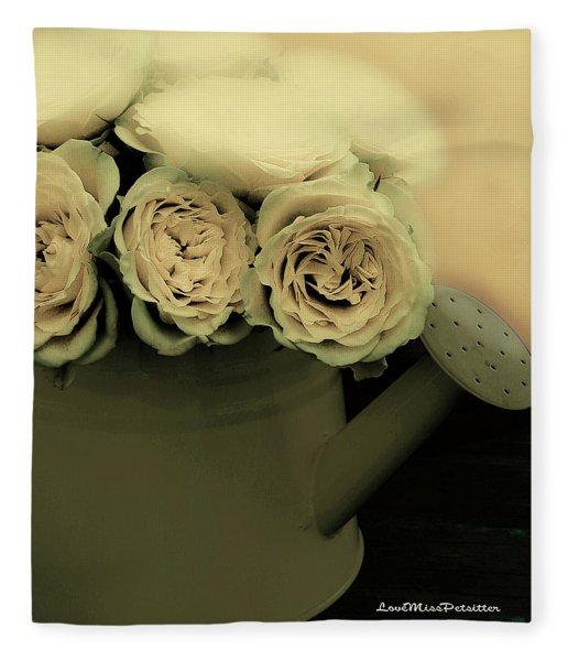 Floral Art 38 Fleece Blanket
