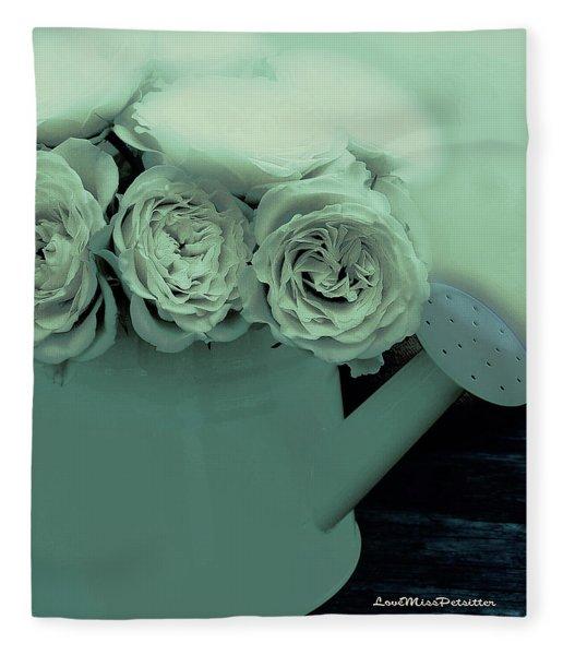 Floral Art 39 Fleece Blanket