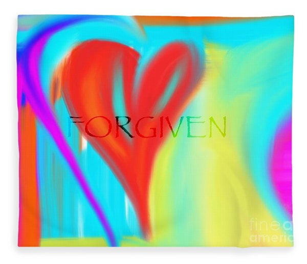Forgiven Fleece Blanket