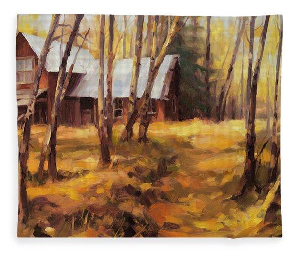 Forgotten Path Fleece Blanket