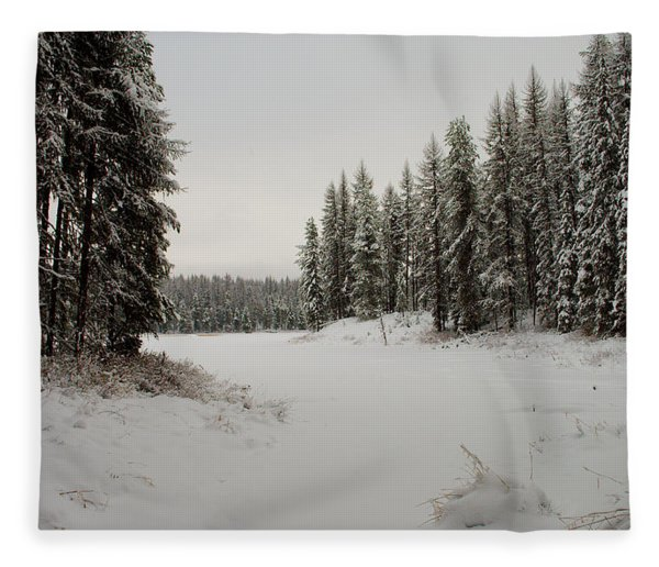 Frater Lake Fleece Blanket