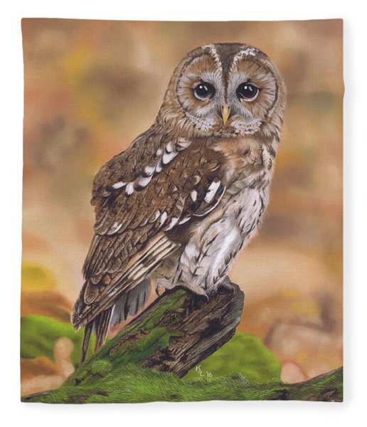 Free As A Bird Fleece Blanket
