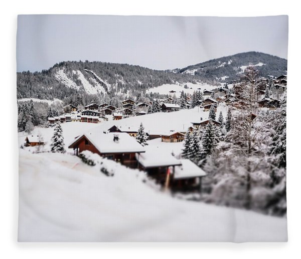 From A Distance- Fleece Blanket