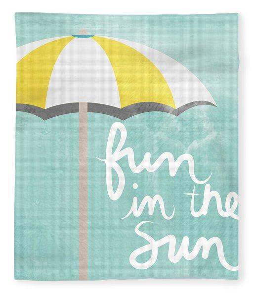 Fun In The Sun Fleece Blanket