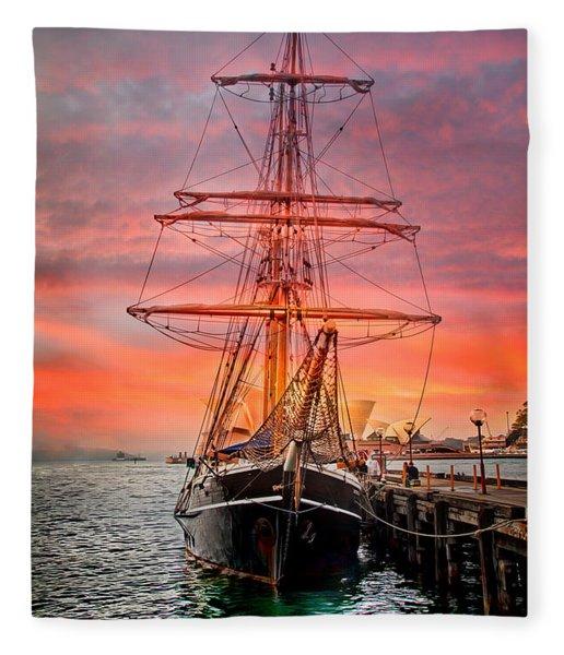 Galleano's Quest Fleece Blanket