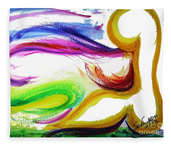 Gimel - Breathe Fleece Blanket