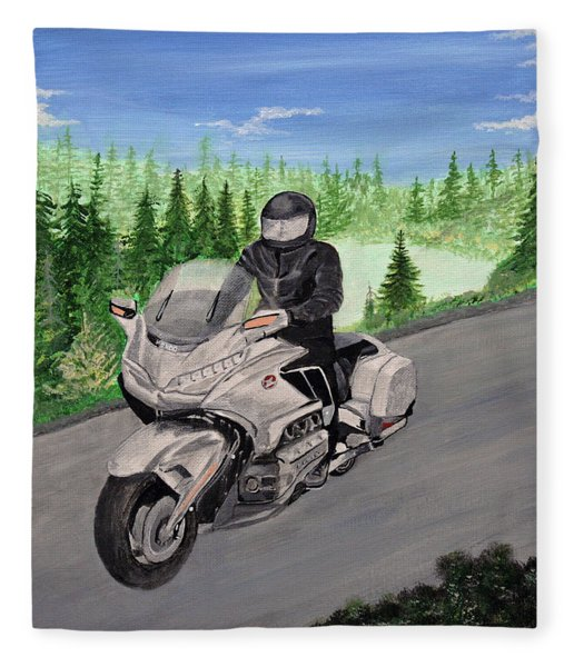 Goldwing Fleece Blanket