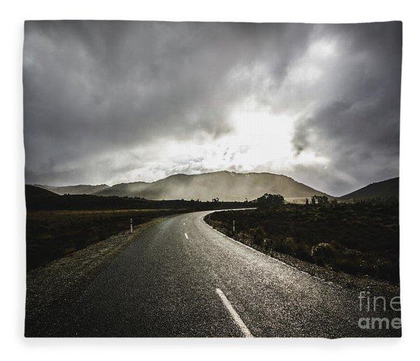 Gordon River Road Fleece Blanket