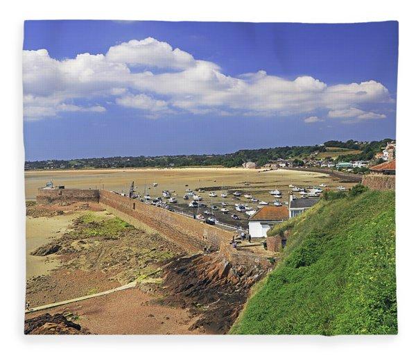 Gorey Pier  Fleece Blanket