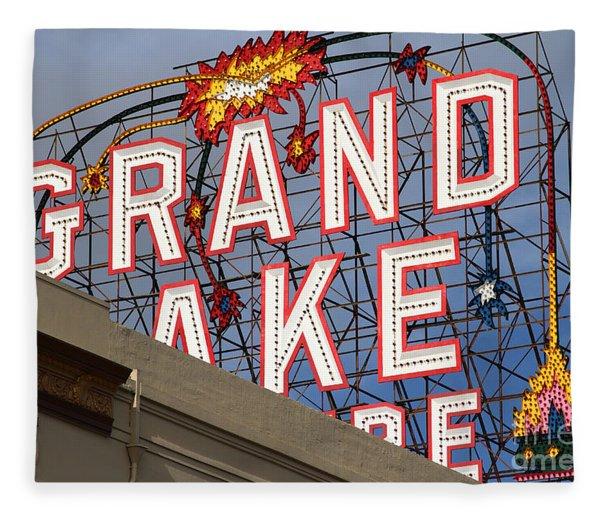 Grand Lake Theatre . Oakland California . 7d13495 Fleece Blanket