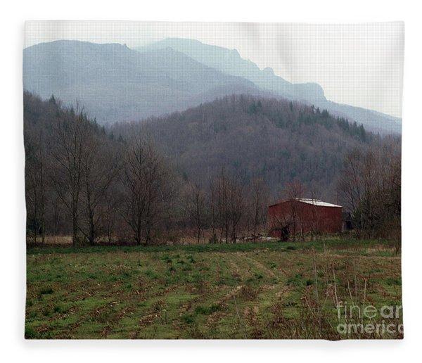 Grandfather Mountain Fleece Blanket