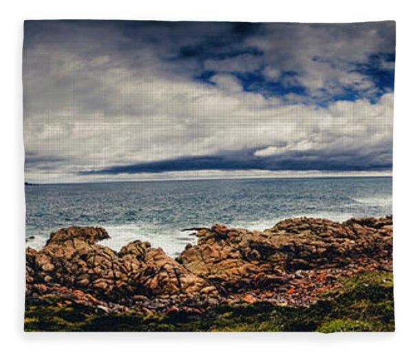 Granville Tasmania Panoramic Fleece Blanket