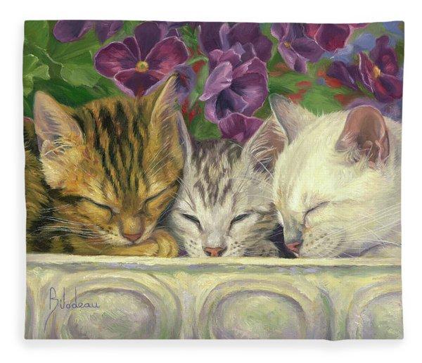 Group Nap Fleece Blanket