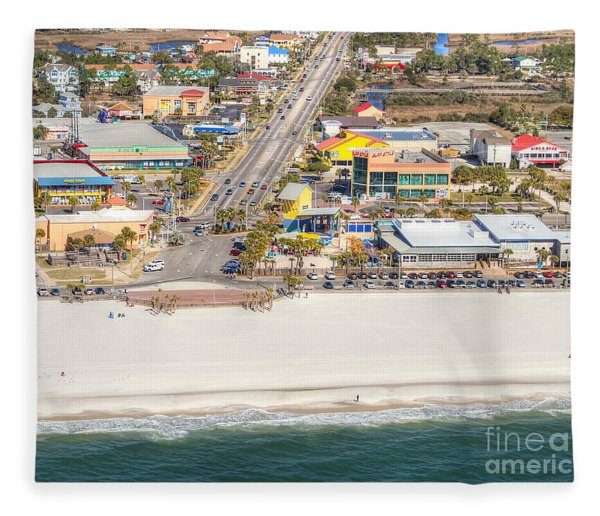 Gulf Shores - Hwy 59 Fleece Blanket
