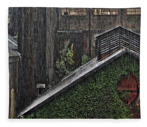 Hard Rain Fleece Blanket
