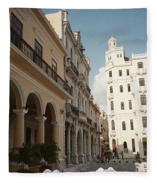 Havana Vieja Fleece Blanket