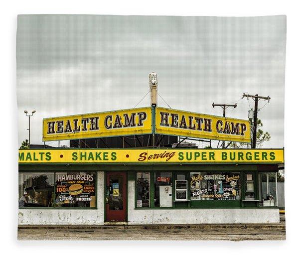 Health Camp Fleece Blanket