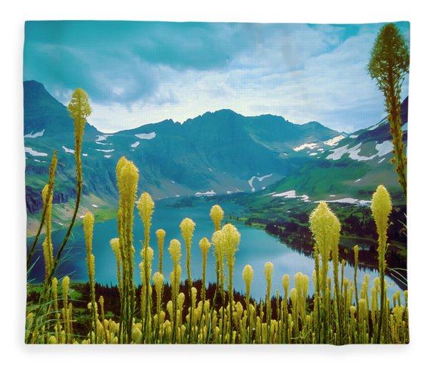 Hidden Lake, Gnp Fleece Blanket