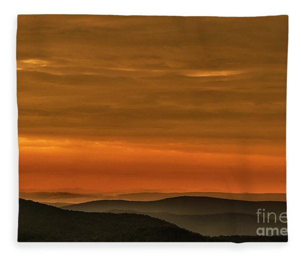 Highland Daybreak Fleece Blanket