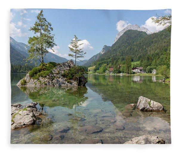 Hintersee, Bavaria Fleece Blanket