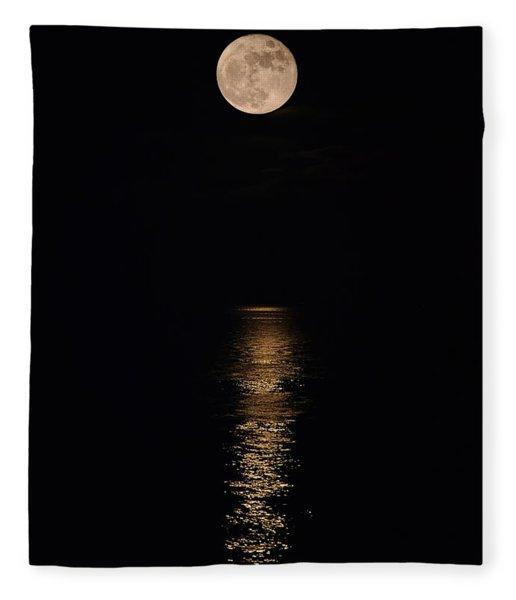 Holiday Magic - Lunar Art Fleece Blanket
