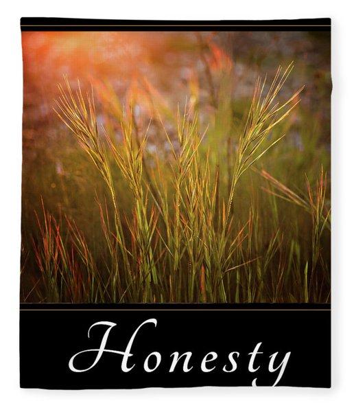 Honesty Fleece Blanket