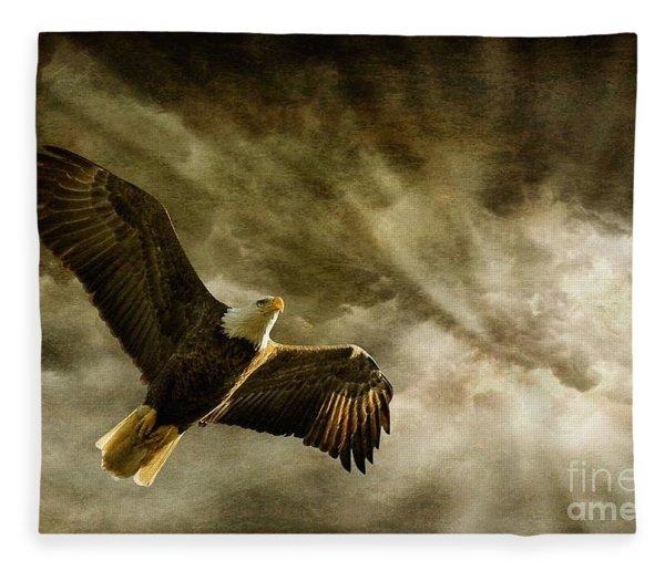 Honor Bound Fleece Blanket