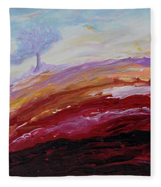 Hope Beyond The Lava Fleece Blanket
