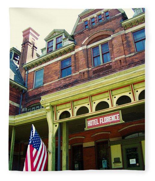 Hotel Florence Pullman National Monument Fleece Blanket