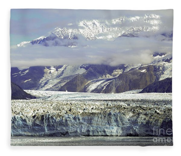 Hubbard Glacier Fleece Blanket