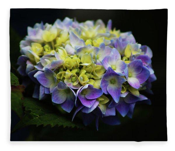 Hydrangea 3705 H_2 Fleece Blanket