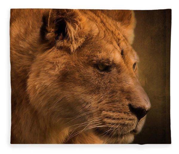 I Promise - Lion Art Fleece Blanket