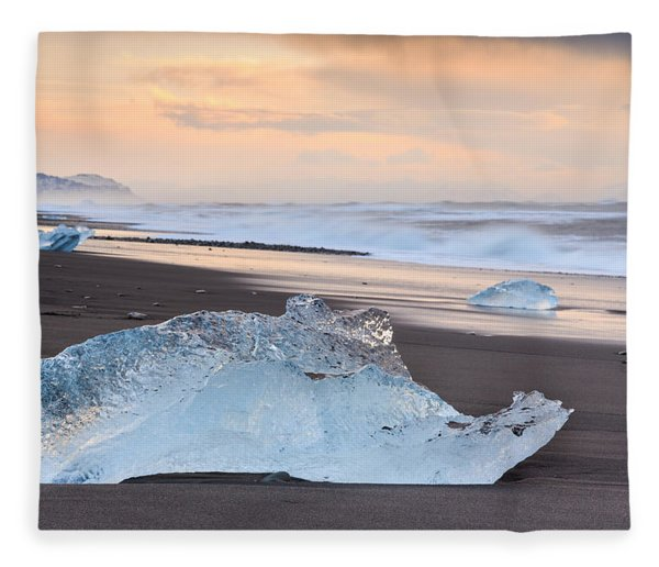 Ice Beach Fleece Blanket
