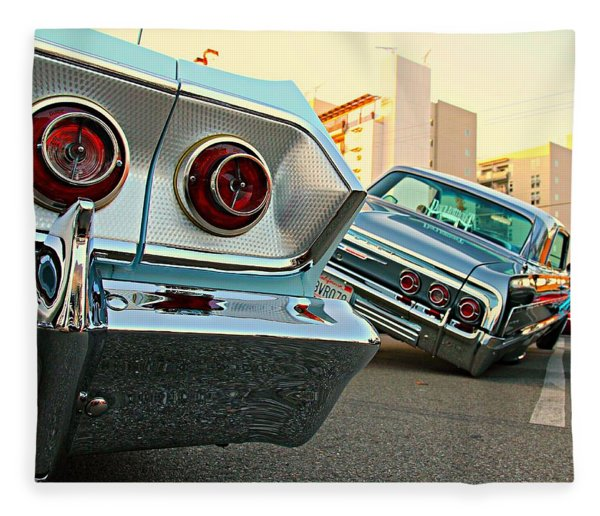 Impala Low-riders Fleece Blanket