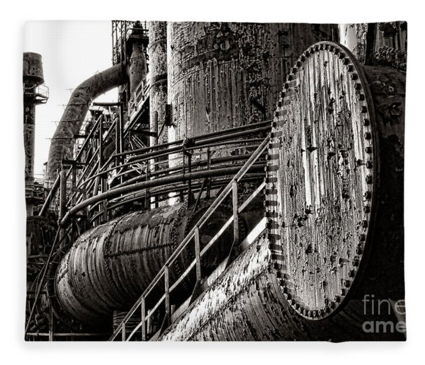 Industrial Heritage Fleece Blanket