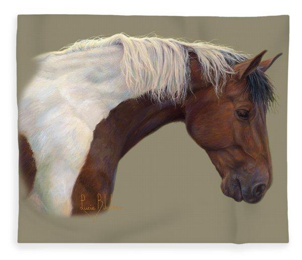 Intrigued Fleece Blanket